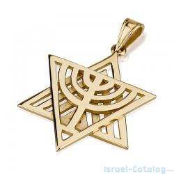 14k-menorah-star-david-necklace